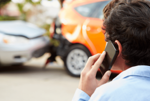 תאונת דרכים, קריאה לעזרה, דיכאון אחרי תאונה