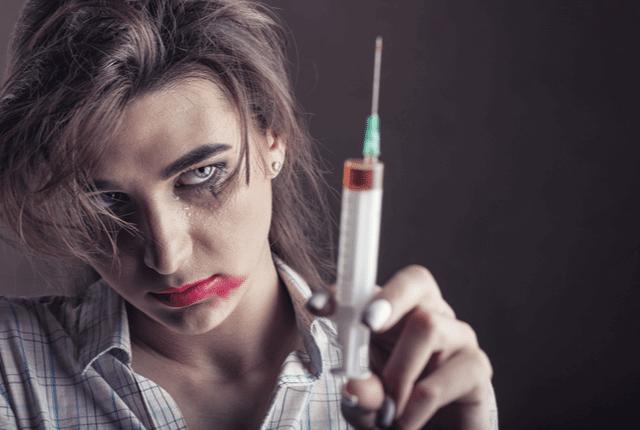 הזרקת סם, התמכרויות לסמים