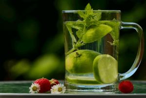 תזונה, שתייה, תה עם צמחים
