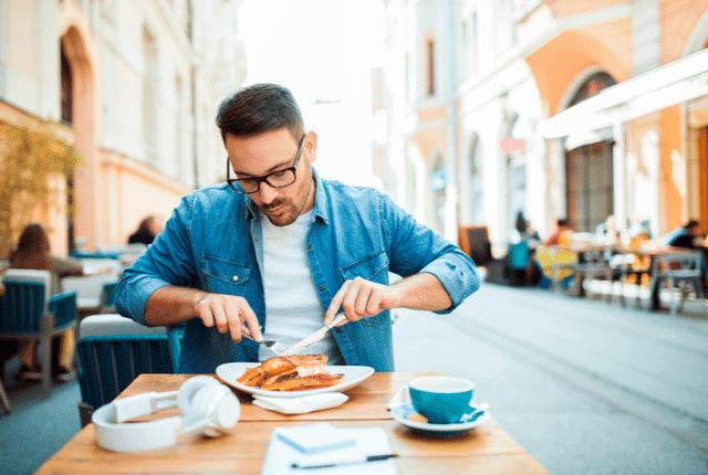 אכילה, מסעדה, ארוחה