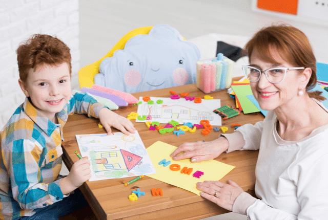 אבחון ילד, פעילות עם ילד