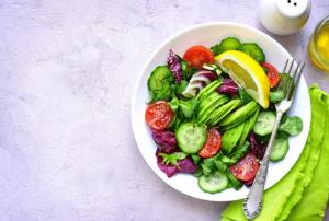 תזונה בריאה, סלט בריא