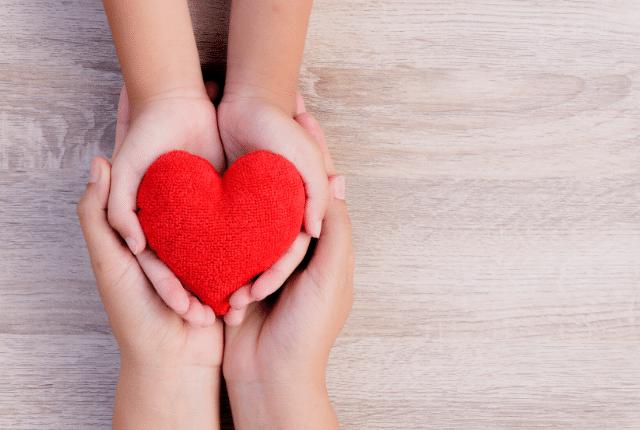 בריאות, לב אדום, אהבה, נתינה